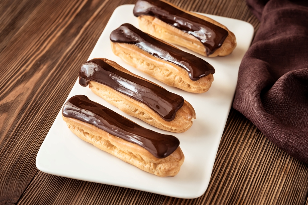Tasty Chocolate Eclair