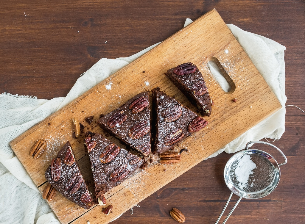 The Best Pecan Brownies