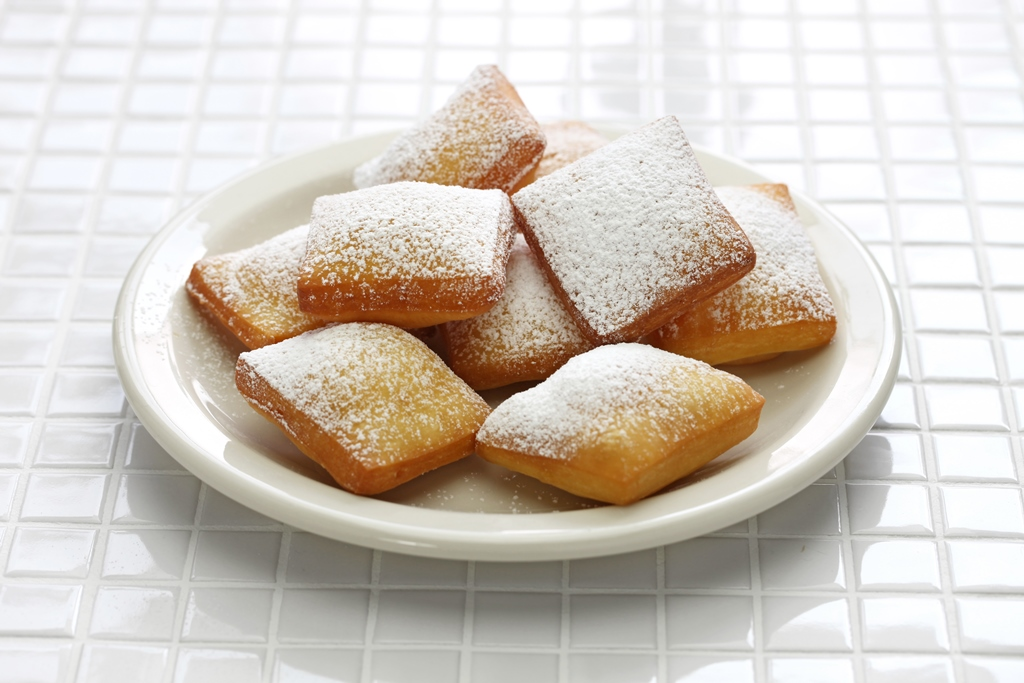 New Orleans-Style Homemade Beignets