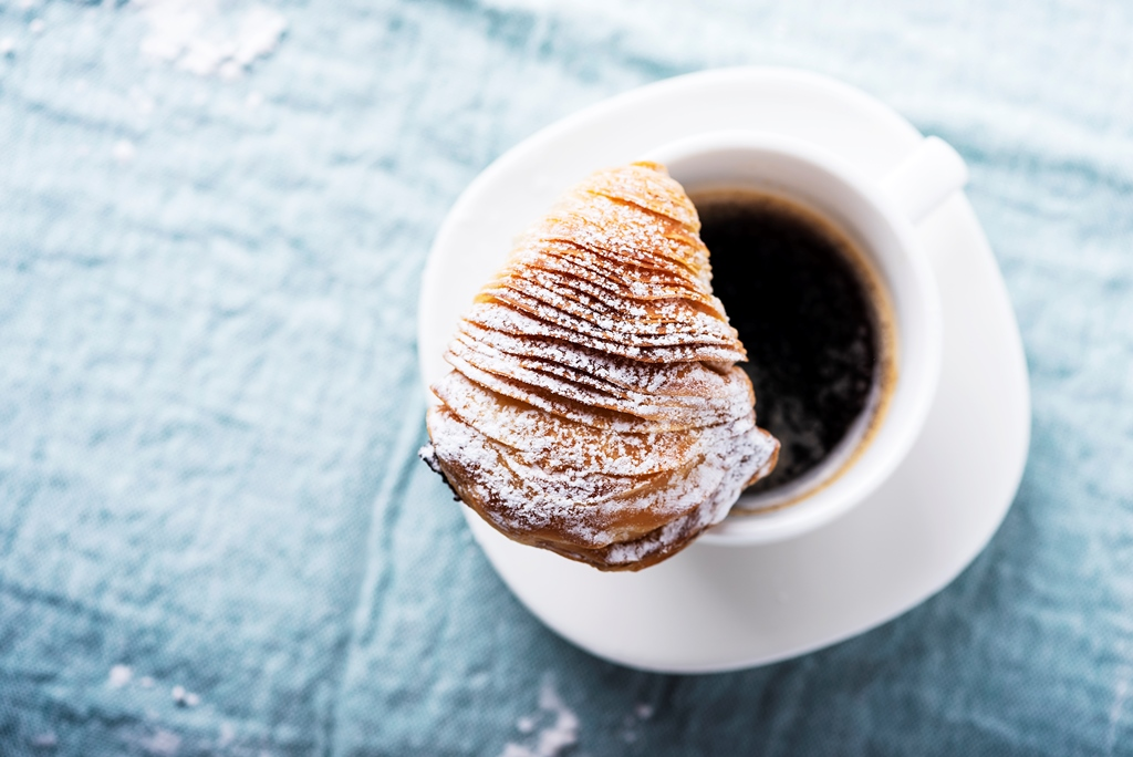 Authentic Italian Sfogliatelle