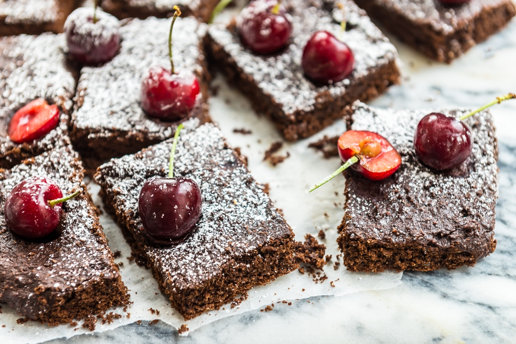 Chocolate & Cherry Brownies