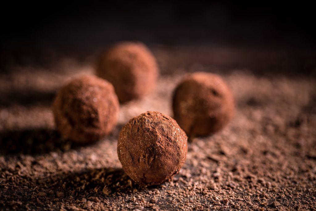 Easy No-bake Chocolate balls