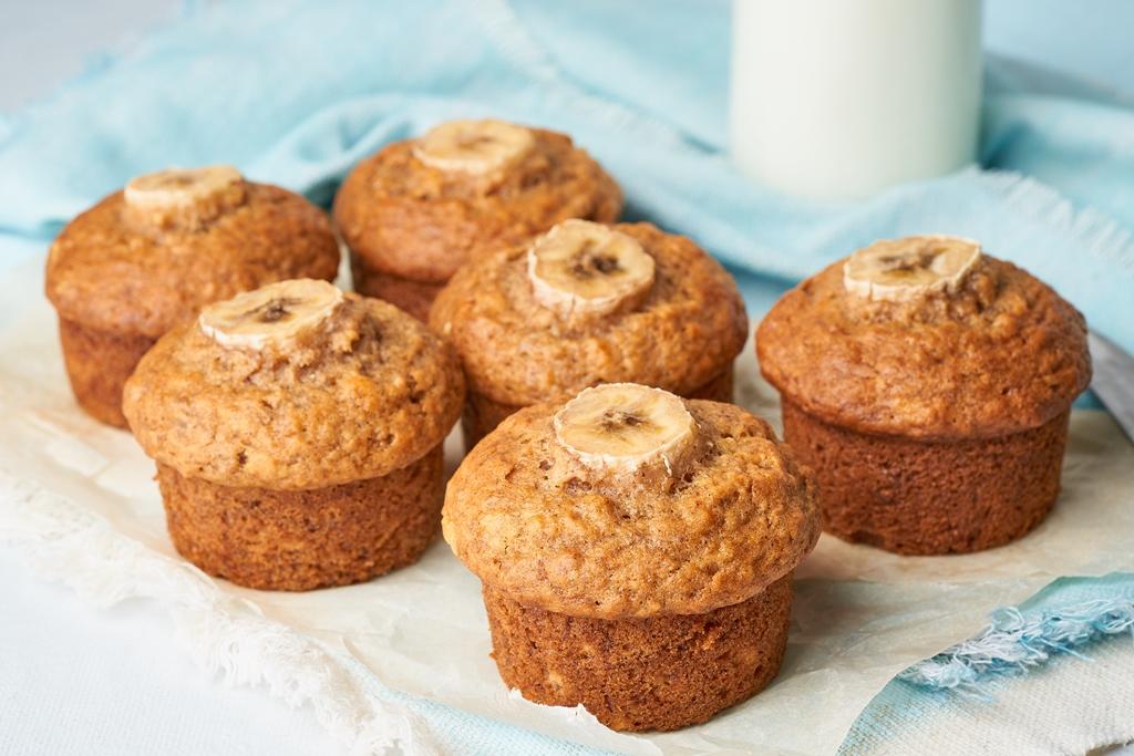 Delicious Banana Muffins