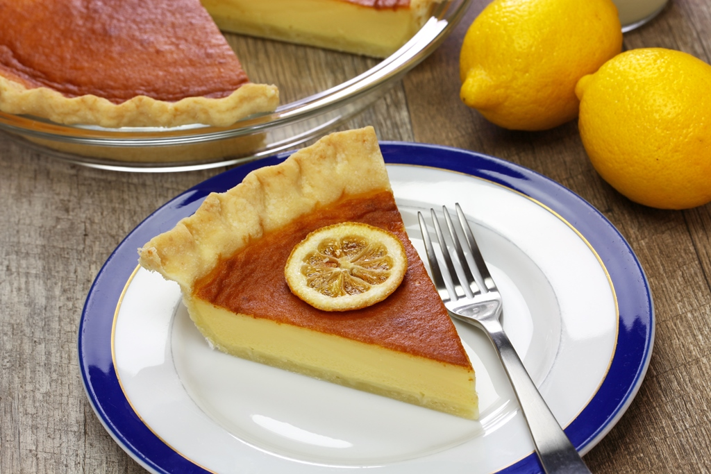 Lemon Buttermilk Pie