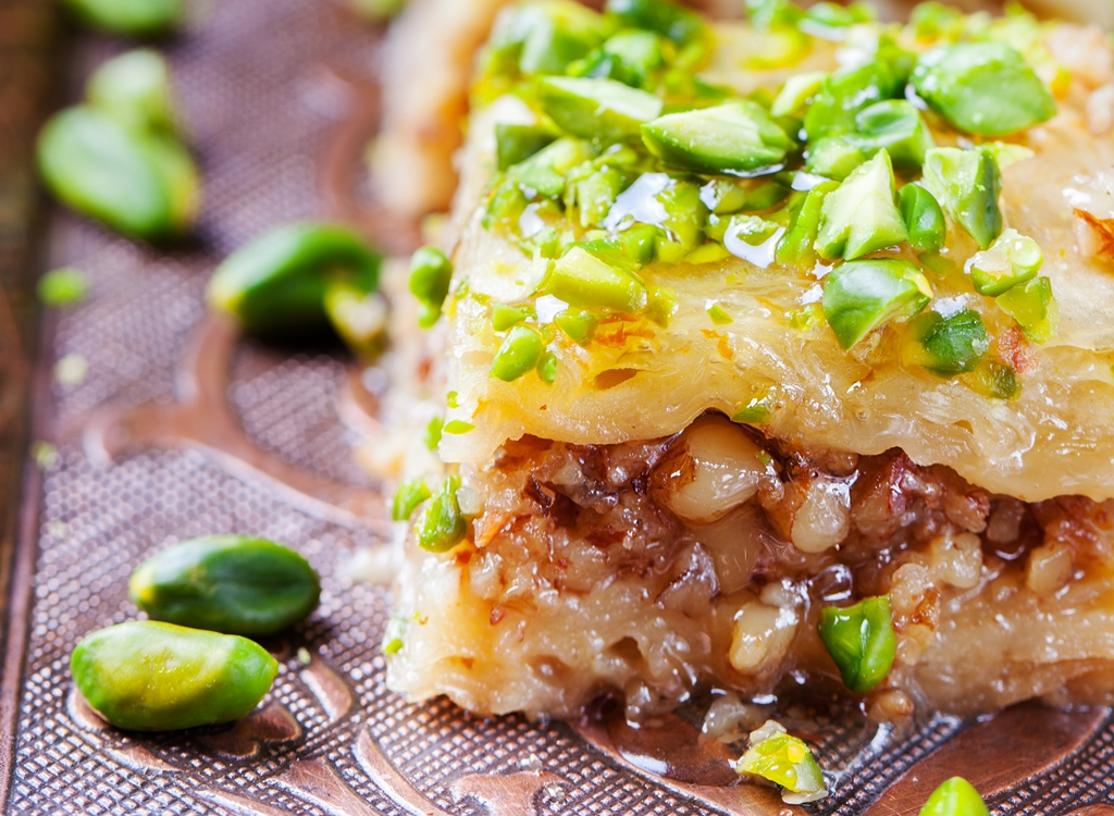 Baklava With Nuts and Honey