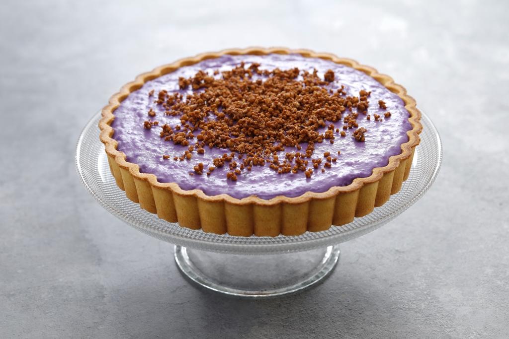 Homemade Filipino Ube Pie