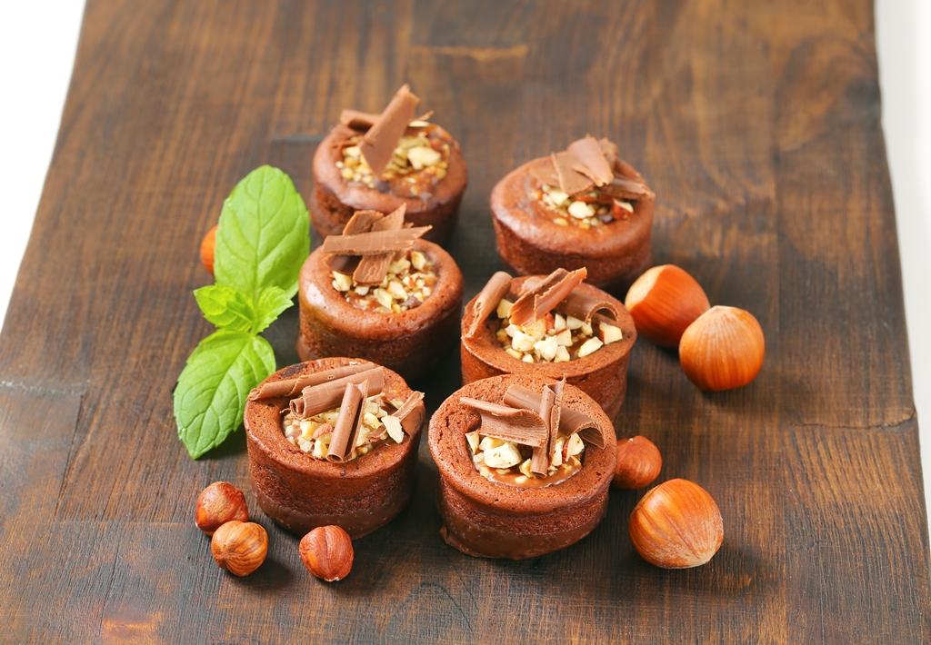 Mini Hazelnut Chocolate Cake