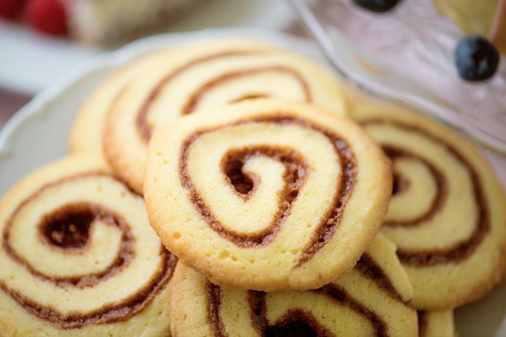 Coconut-Chocolate Pinwheel Cookies