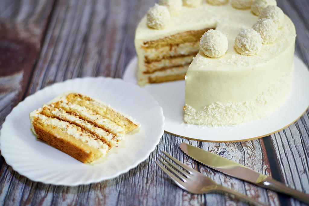 Coconut Milk Cake