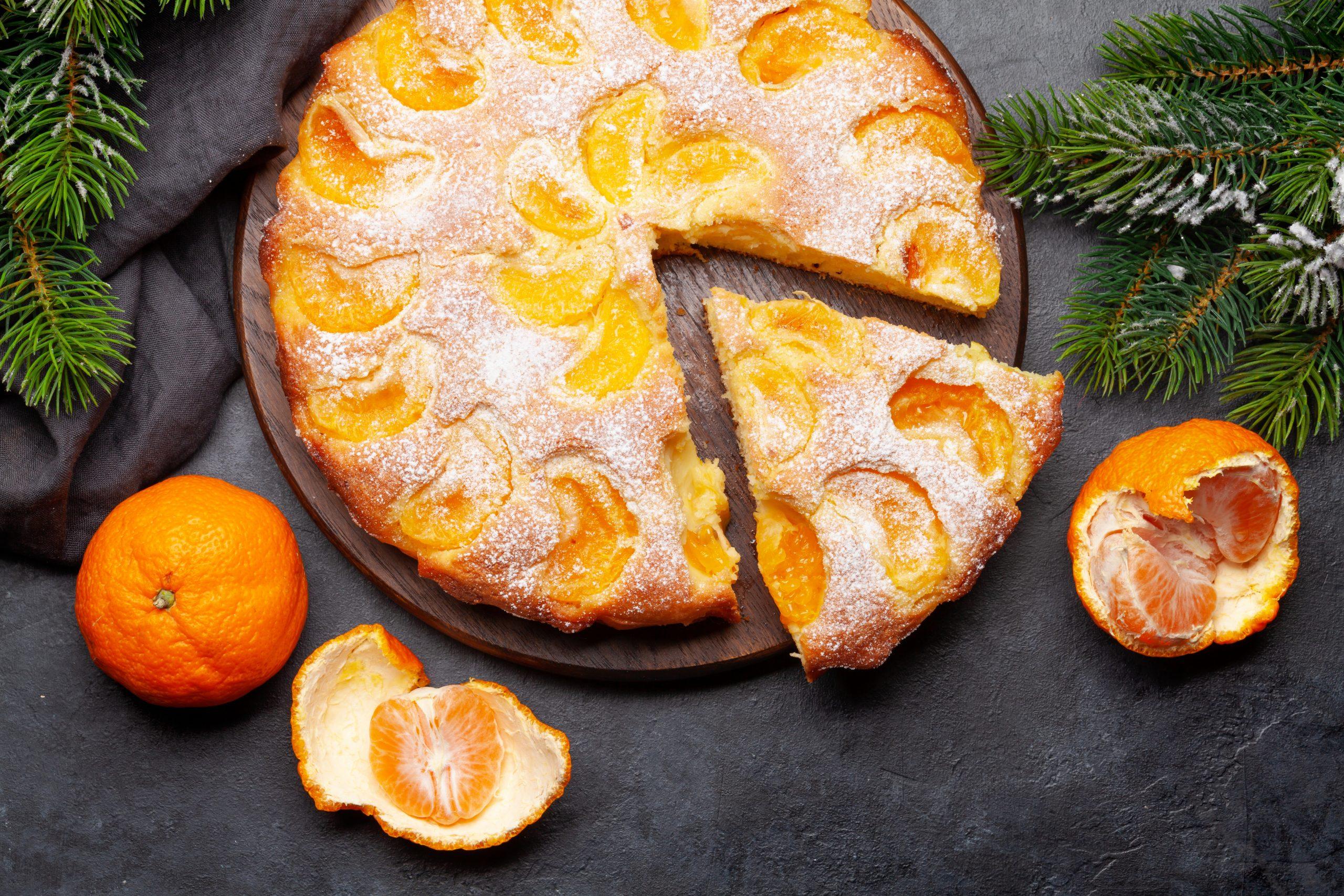 Tangerine Holiday Cake