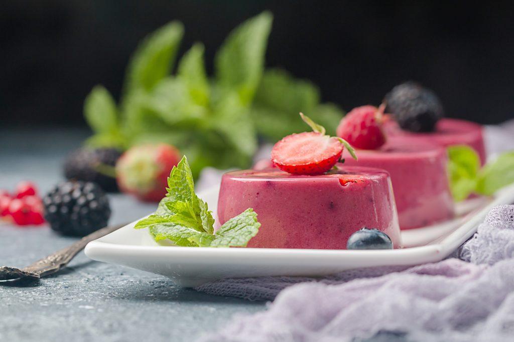 Raspberry Jello Pudding
